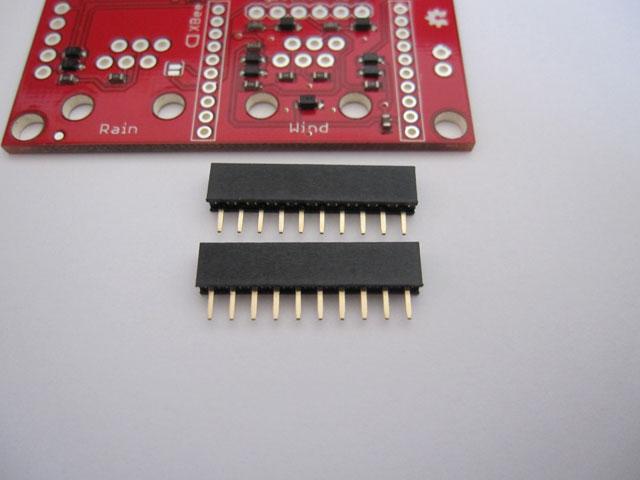 USB Weather Board とピンフレーム