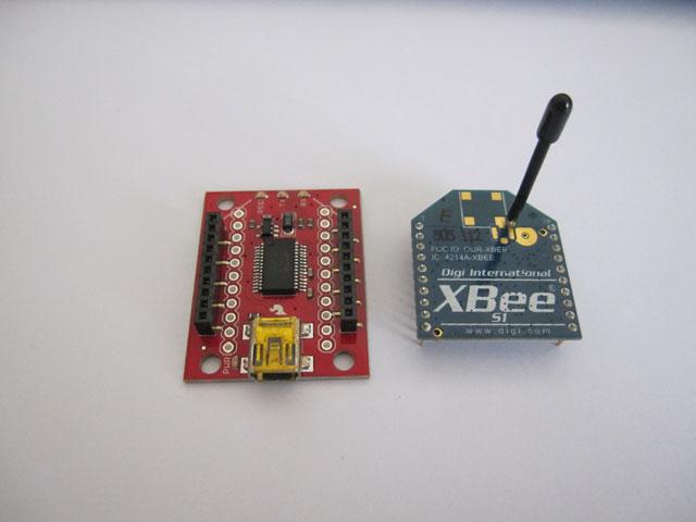 XBee S1とXBee Explorer USB