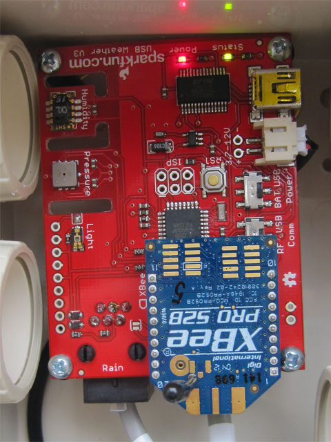 USB Weather Board + XBee Pro