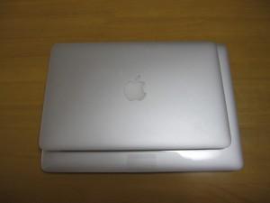 11インチと13インチMacBook Airの比較