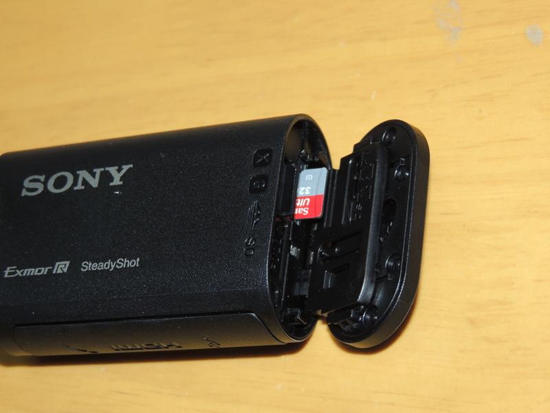 MicroSDHCのセット